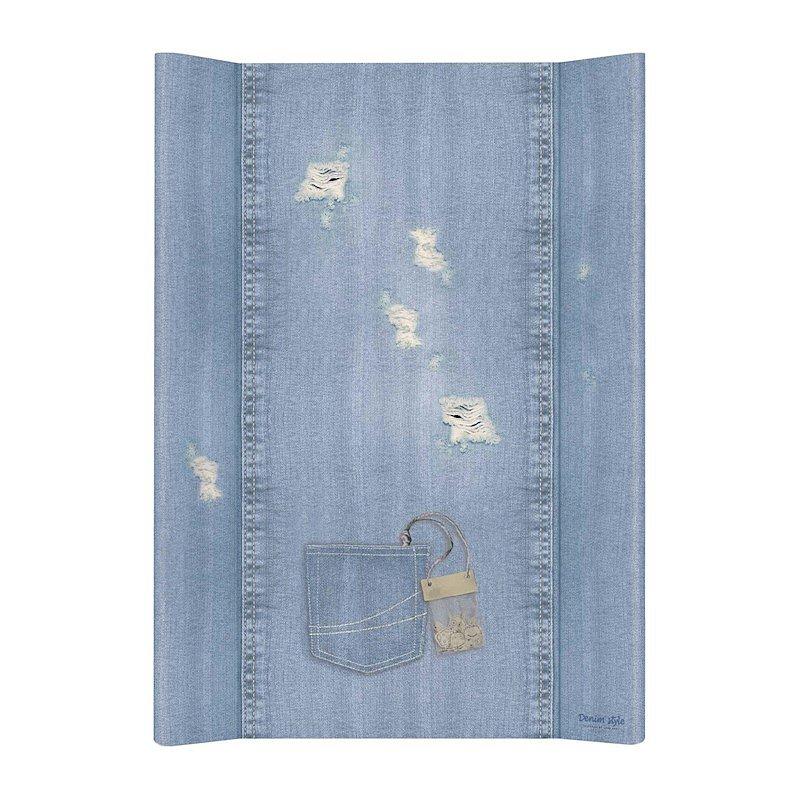 CEBA Podložka přebalovací 2hranná MDF 70 cm Denim Style Shabby blue Ceba