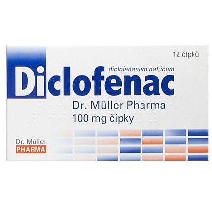 Dr.Müller Diclofenac 100mg čípky 12ks