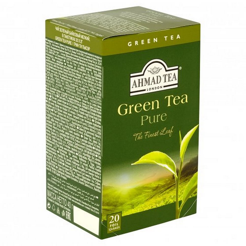 AHMAD Green Tea 20x2g