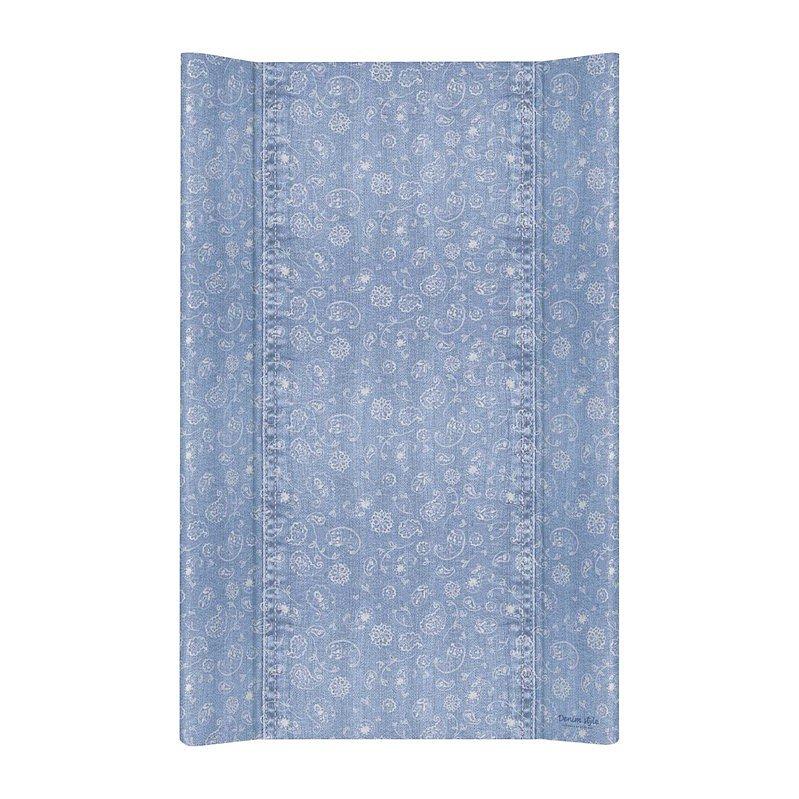 CEBA Podložka přebalovací 2hranná MDF 80 cm Denim Style Boho blue Ceba