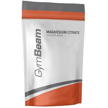 GymBeam Magnesium Citrate unflavored - 250 g