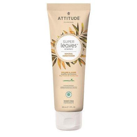 Přírodní kondicionér ATTITUDE Super leaves s detoxikačním účinkem - lesk a objem pro jemné vlasy 240 ml