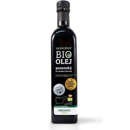 Bio Konopný olej panenský 500ml