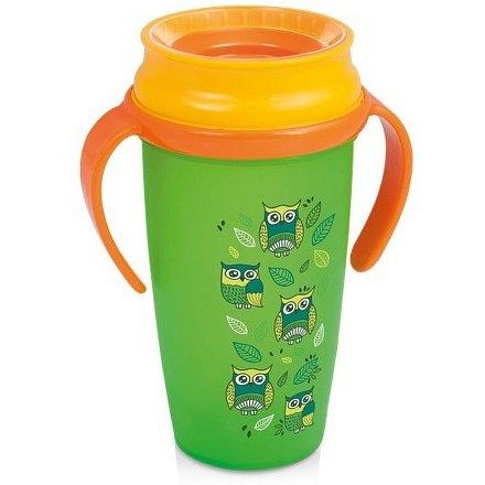 Hrníček LOVI 360 ACTIVE 350ml bez BPA FOLKY zelený