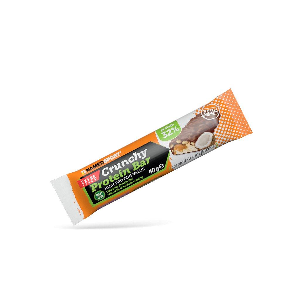 NAMEDSPORT Crunchy Proteinová tyčinka 32% Coconut Dream 40 g