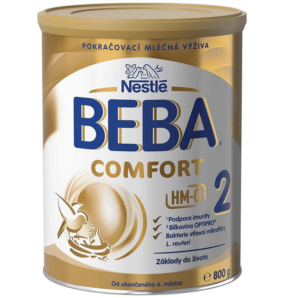 NESTLÉ BEBA Comfort 2 HM-O Pokračovací mléko od ukončeného 6.měsíce 800 g, poškozený obal