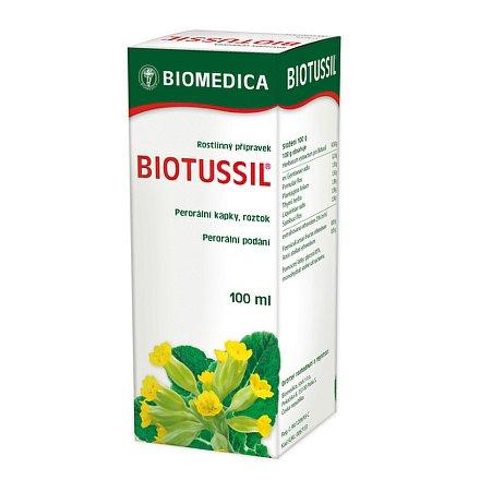 Biotussil perorální kapky roztok 100 ml
