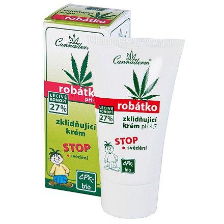 Cannaderm Robátko zklidňující krém pH 4.7  50g