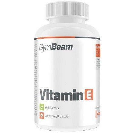 GymBeam Vitamin E 60 kaps unflavored