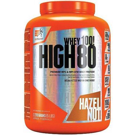High Whey 80 2,27 kg lískový oříšek