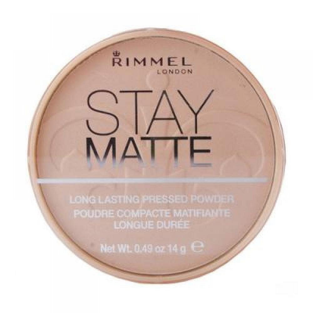 RIMMEL London Stay Matte Long Lasting Pressed Powder 14 g 002 Pink Blossom