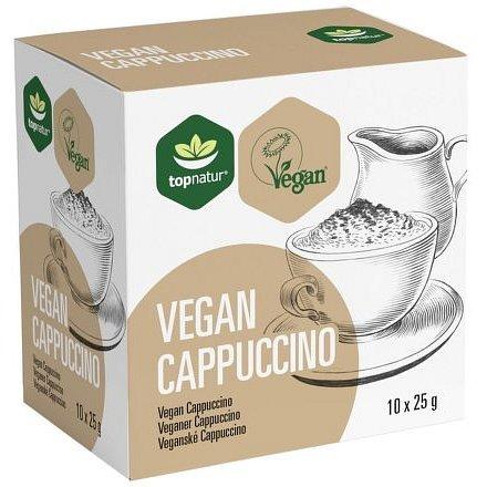 Vegan Capuccino 10x25g TOPNATUR