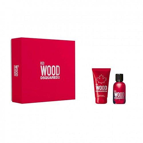 Dsquared2 Red Wood Pour Femme Kit dárková kazeta EdT 30 ml + BL 50 ml