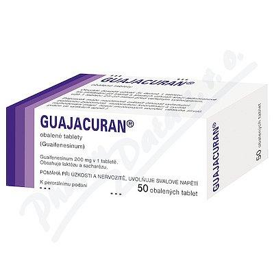 GUAJACURAN 200MG obalené tablety 50