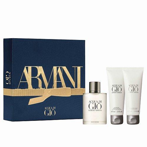 Giorgio Armani Acqua Di Giò Uomo dárková kazeta EdT 50 ml + SG 50 ml + ASB 75 ml