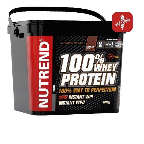 100% Whey Protein jahoda 4000g