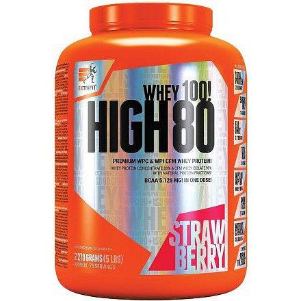 High Whey 80 2,27 kg jahoda