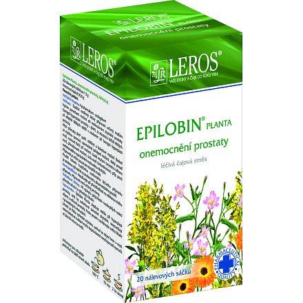 LEROS Epilobin Planta perorální léčivý čaj 20 x 1.5 g sáčky