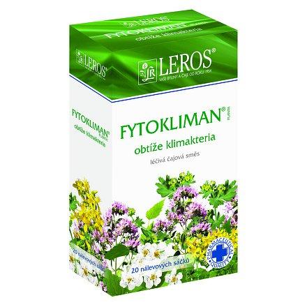 LEROS Fytokliman Planta perorální léčivý čaj 20 x 1.5 g sáčky