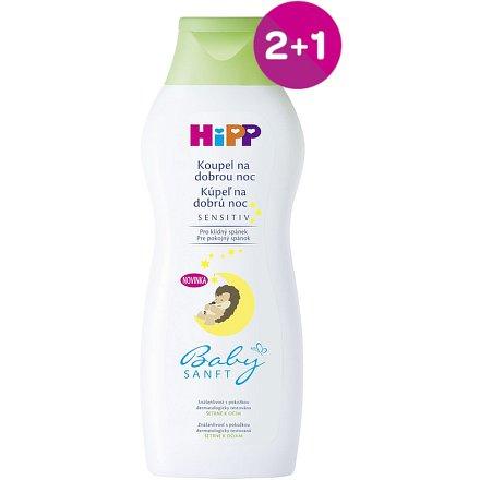 HiPP BABYSANFT Koupel na dobrou noc 350ml 2+1 ZDARMA*