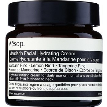 Aēsop Skin Mandarin lehký hydratační denní krém pro normální až smíšenou pleť  60 ml
