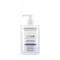 Dermedic Linum Emolient ochranné mýdlo na ruce 300 ml