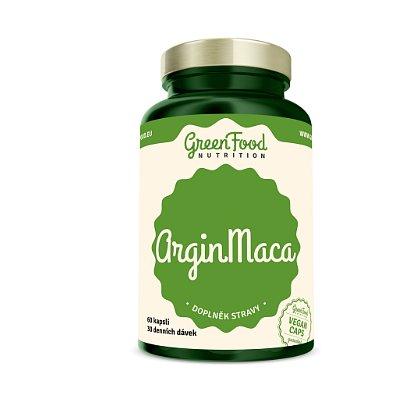 GreenFood Nutrition ArginMaca 60cps