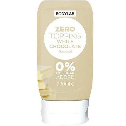 Bodylab Zero Topping Syrup 290 ml bílá čokoláda