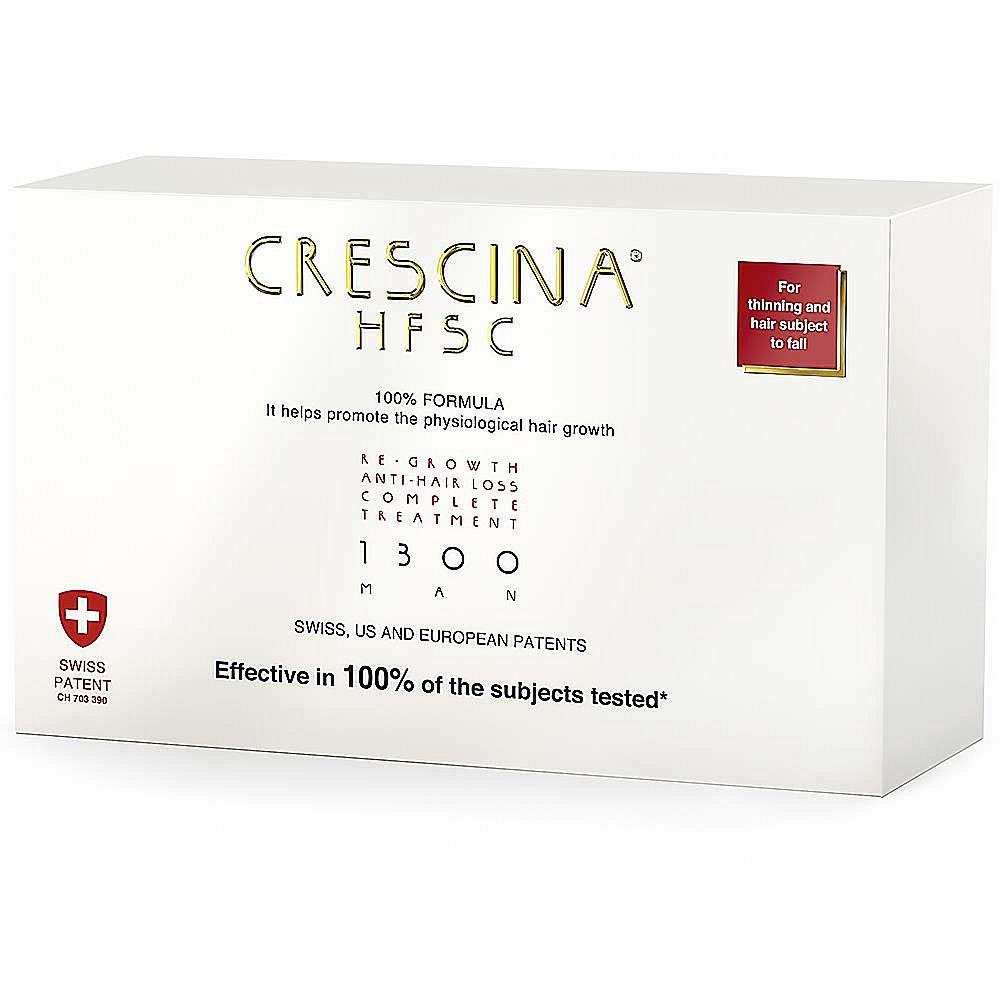 CRESCINA na podporu růstu vlasů a proti vypadávání vlasů (stupeň 1300) - muži