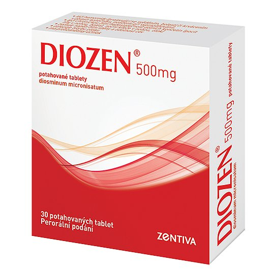 Diozen 500mg tablety 30ks