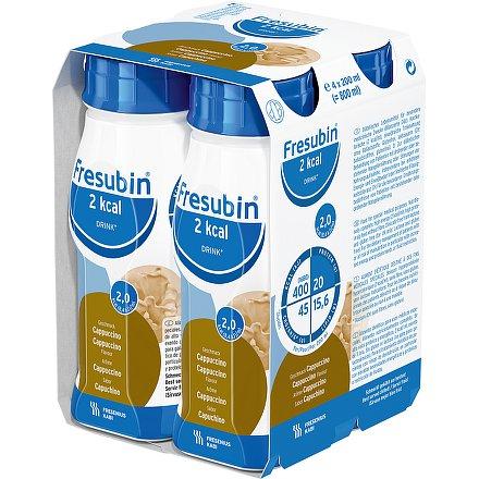 Fresubin 2 kcal drink cappuccino perorální roztok  4 x 200 ml