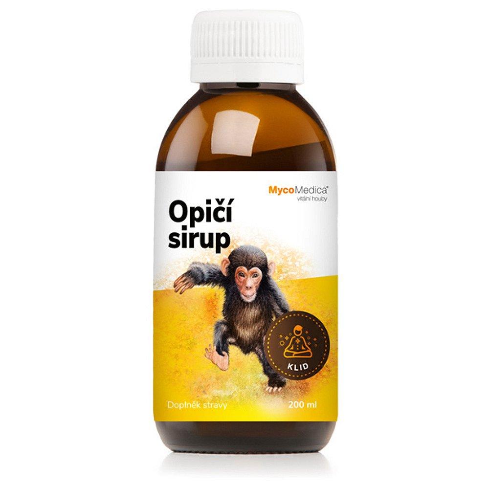 MYCOMEDICA Opičí sirup 200 ml