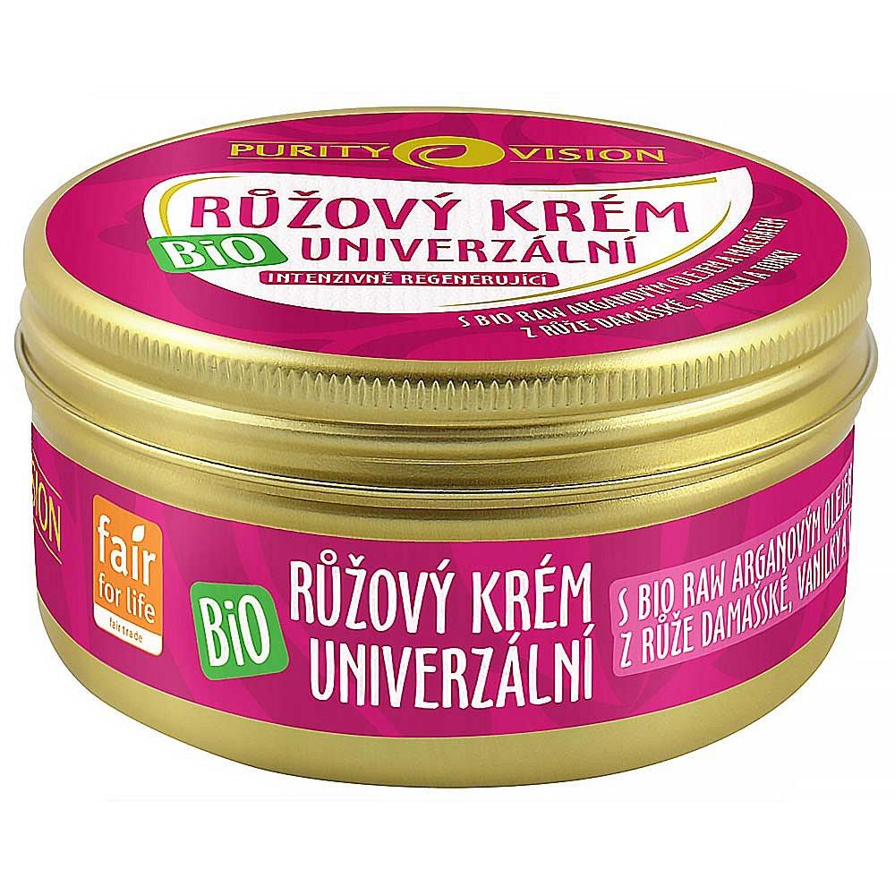 PURITY VISION Růžový krém univerzální BIO 70 ml