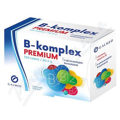 B-komplex PREMIUM Galmed 100 tablet