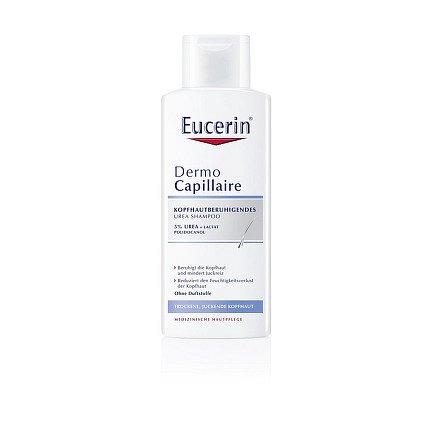EUCERIN DermoCapill. UREA 5% šampon na vlasy 250ml
