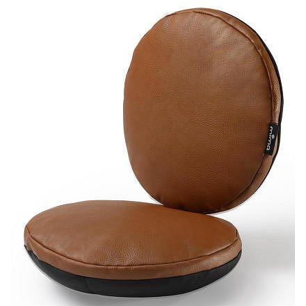 Sada sedacích polštářků do židličky Moon hnědá