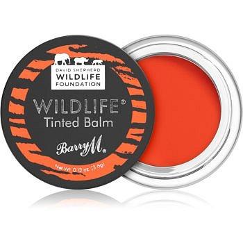 Barry M Wildlife  tónující balzám na rty odstín Untamed Red