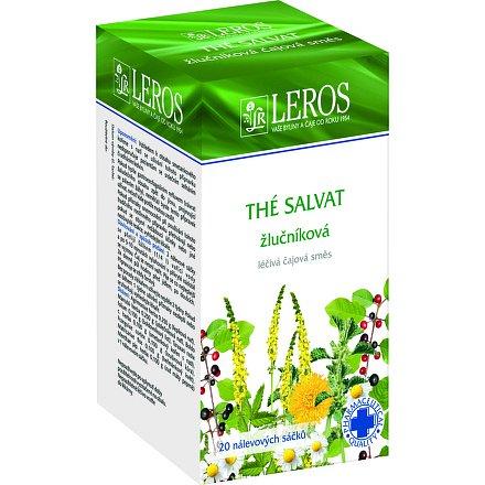 LEROS The Salvat perorální léčivý čaj 20 x 1 g sáčky