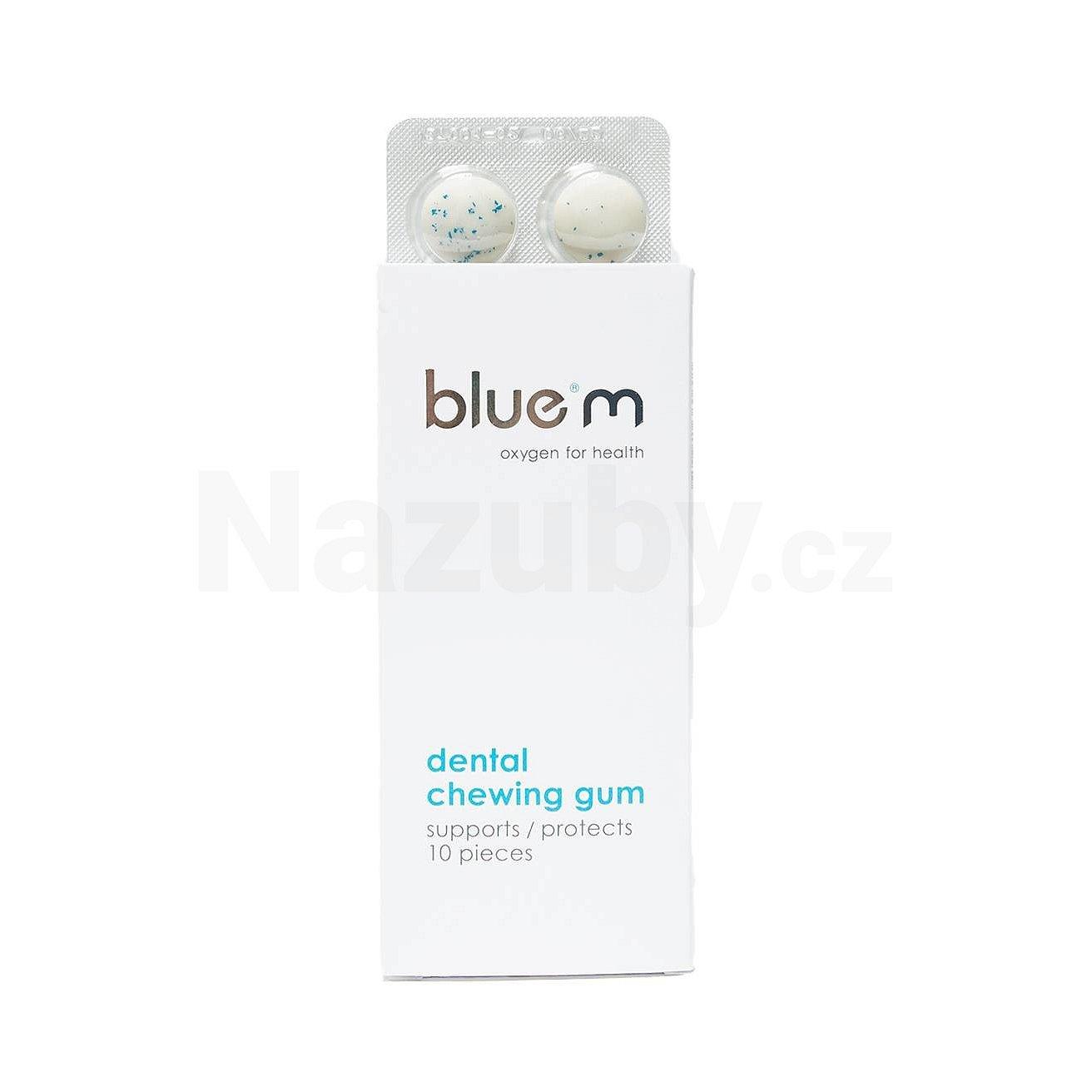 Blue M Oxygen for Health žvýkací guma 10 ks