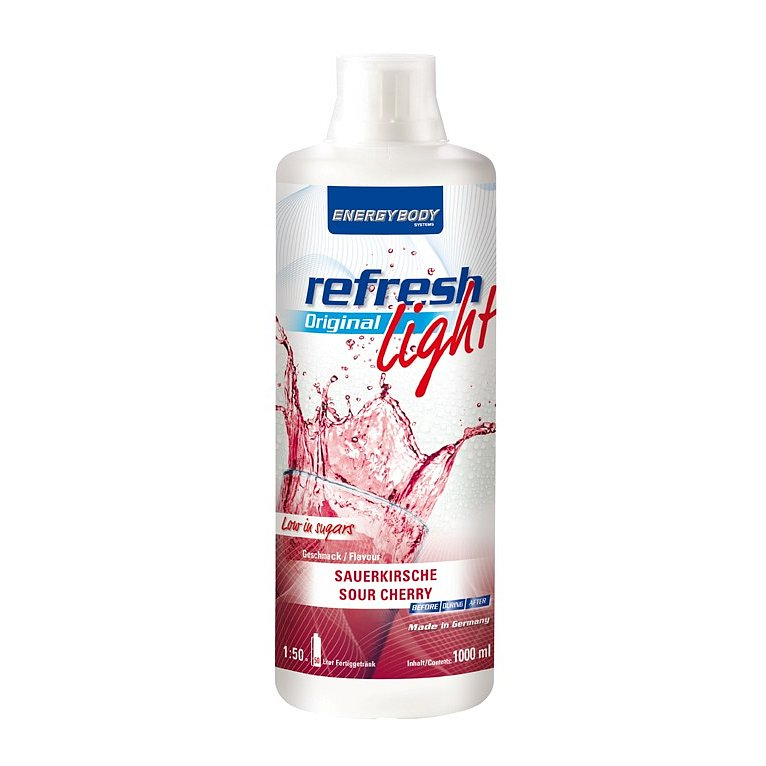 EnergyBody Refresh Light Original višeň 1L