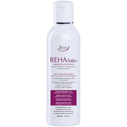 2DERM REHA lotio 200ml