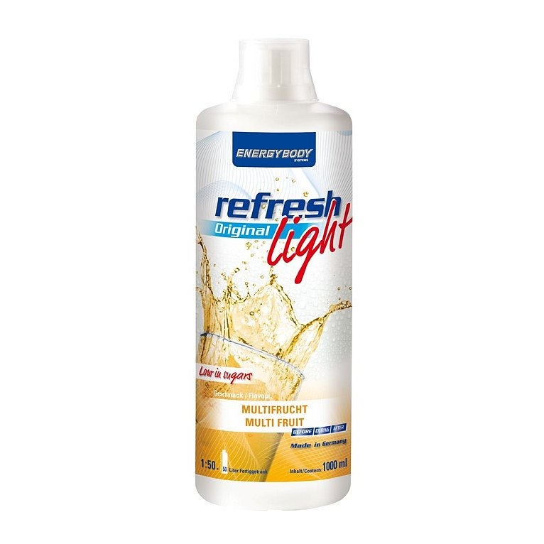 EnergyBody Refresh Light Original ovocná směs 1L