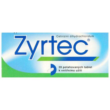 Zyrtec 20 tablet