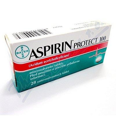 Aspirin Protect 100 perorální tablety Enterosolventní měkká 28 x 100 mg