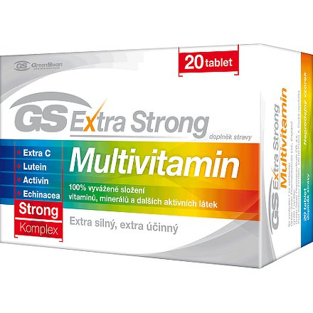 GS Extra Strong Multivitamin tbl. 20
