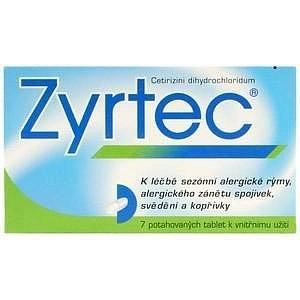 Zyrtec 7 tablet
