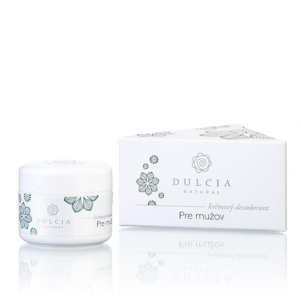 DULCIA  Natural krémový deodorant pro muže 30 g, poškozený obal