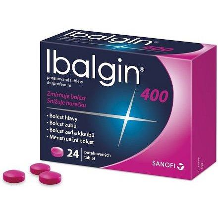 Ibalgin 400 tablety 24ks