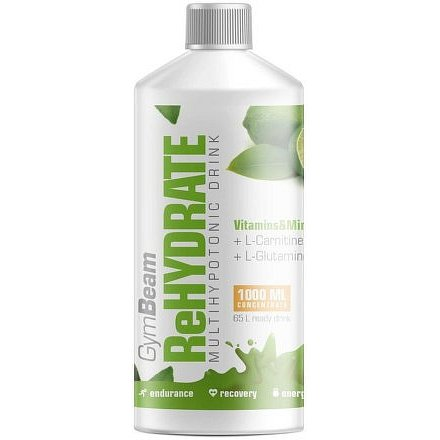 GymBeam ReHydrate lemon lime 1000ml