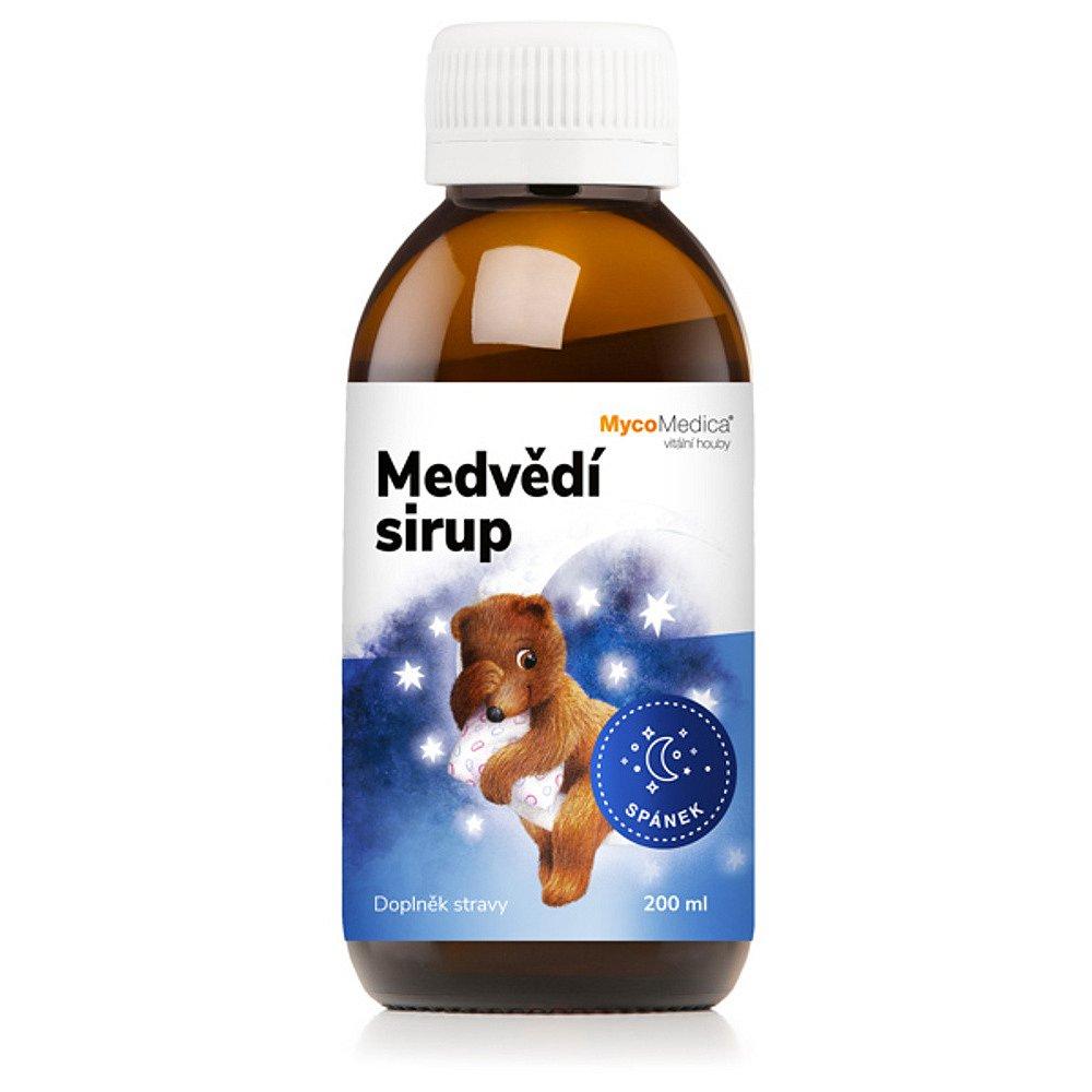 MYCOMEDICA Medvědí sirup 200 ml